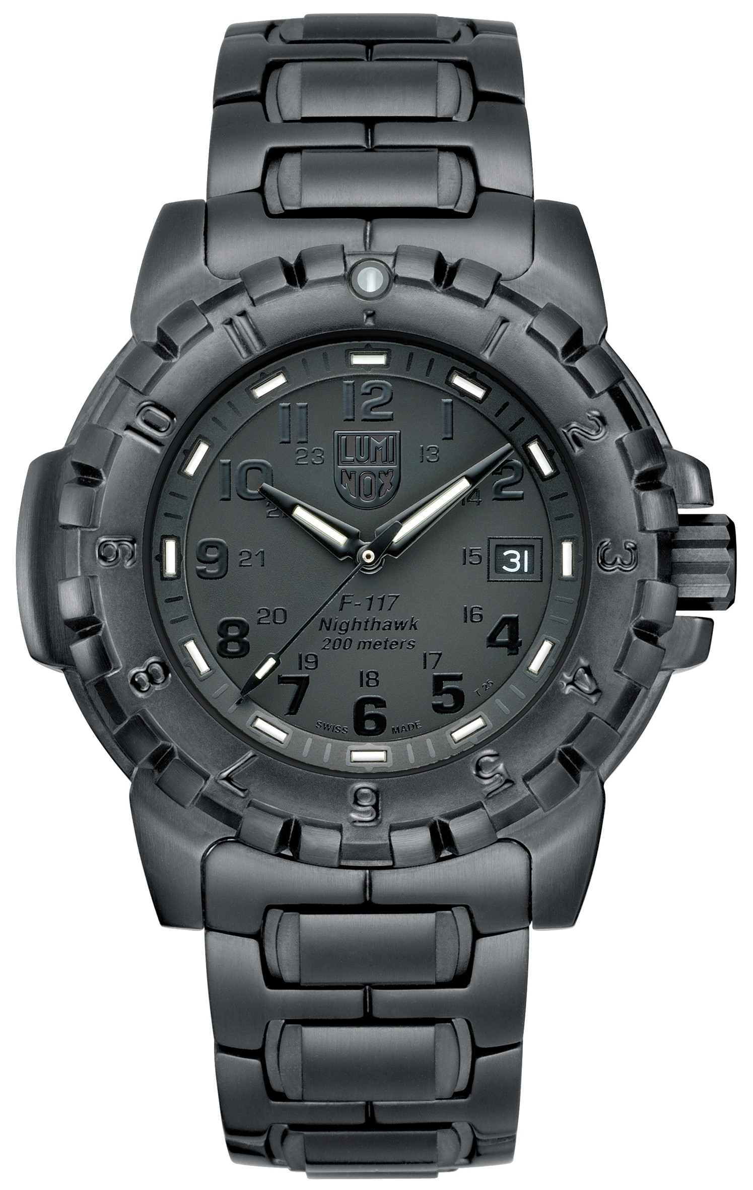 Luminox Evo F-117 Nighthawk Series Modell 6402.BO